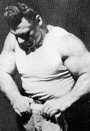 John Grimek Big Arms