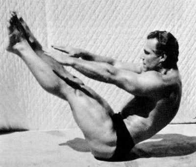 John Grimek Training Abs