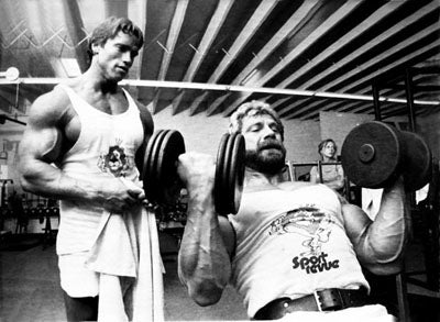 Jusup Wilkosz and Arnold Training