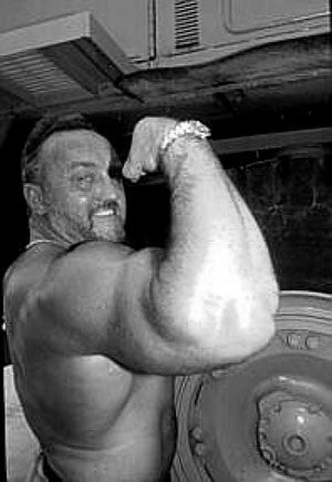 Strongman Legend Bill Kazmaier