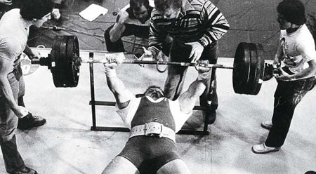 Bill Kazmaier - 10 Week Bench Press Program