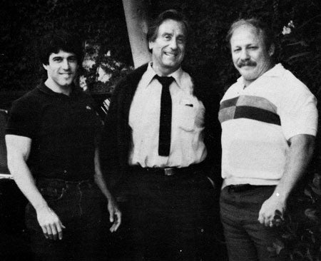 Ken Leistner - Joe Weider - Fred Hatfield