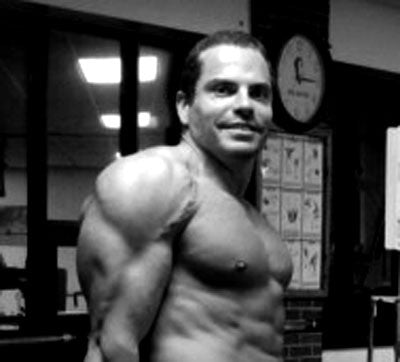 Bodybuilder Lee Hayward