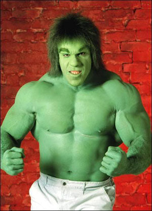 Lou Ferrigno as The Incrediable Hulk
