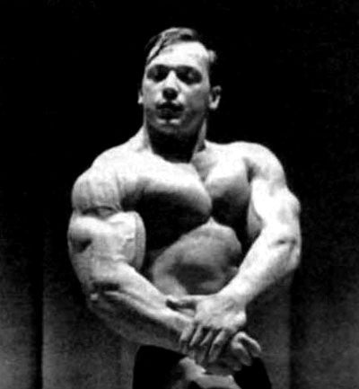 Massive Arms of Bodybuilder Casey Viator