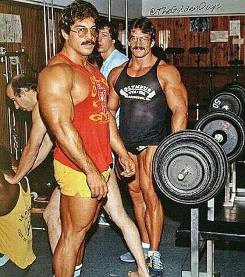 Massive Ray and Mike Mentzer