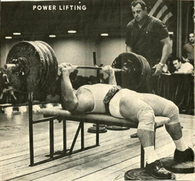 Mel Hennessy - Powerlifting Legend