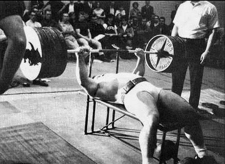 Mel Hennessey - Bench Press King