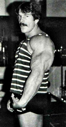 Mike Mentzer Massive Triceps Development