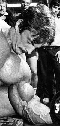 Mike Mentzer - Dumbbell Concentration Curls for Biceps