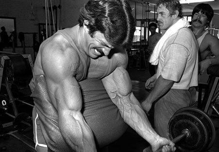 Mike Mentzer - Preacher Curls