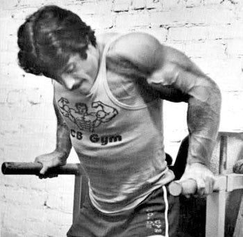 Mike Mentzer Chest Dips