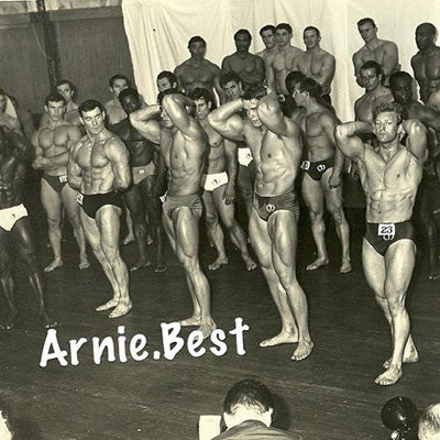 Mr Universe London - Arnold at 20 - 1967
