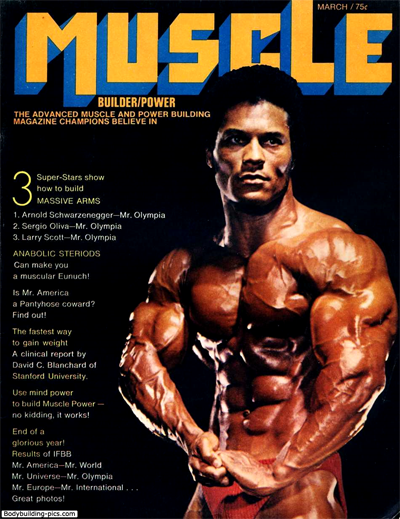Muscle Builder Magazine with Rick Wayne on Cover