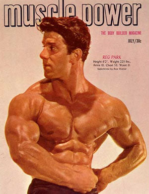 Muscle Power Magazine - Reg Park