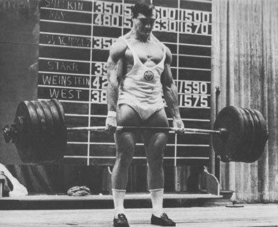 Olympic Lifter Bill Starr