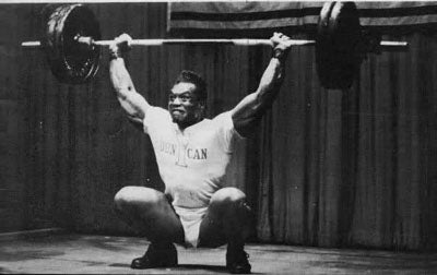 Olympic Weightlifter Sergio Oliva - Snatch Lift