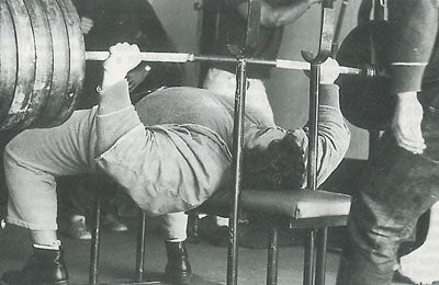 Pat Casey - Raw Bench Pressing Legend