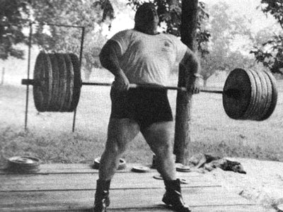 Paul Anderson - Heavy High Pulls