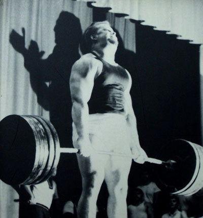 Powerlifter Donald Cundy - 1969 - 800 lbs Deadlift