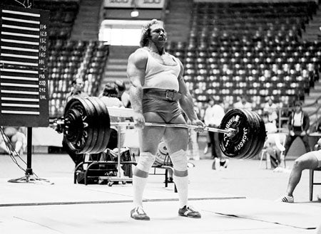 Powerlifter Doug Young Deadlifting