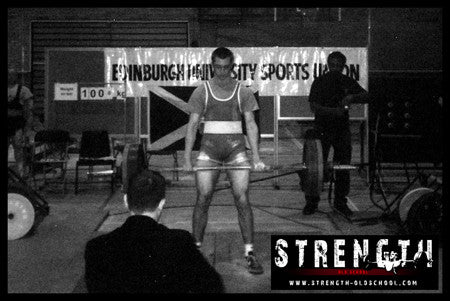 Strength Oldschool Powerlifting Days
