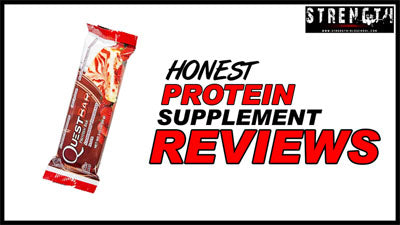 Quest Protein Bar - Strawberry Cheesecake Flavour Review by Strength Oldschool
