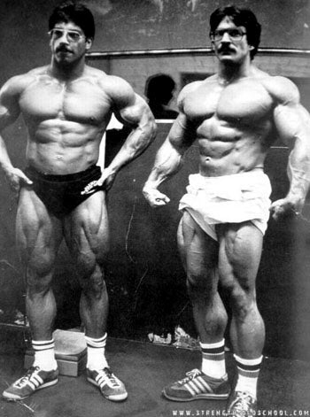 Ray and Mike Mentzer