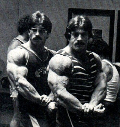 Bodybuilding Blood Brothers Ray and Mike Mentzer