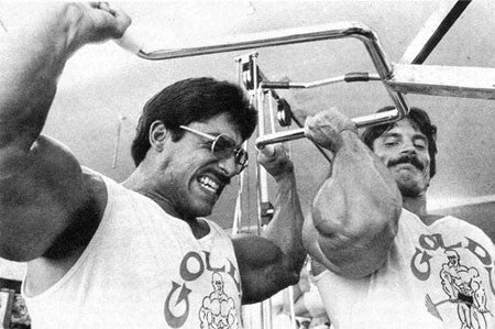 Ray and Mike Mentzer Training Heavy Duty Style