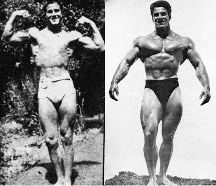 Reg Park Before and After