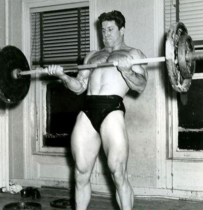 Reg Park Cheat Curls
