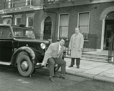 Reg Park Lifting a Car