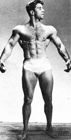 Reg Park after some serious training