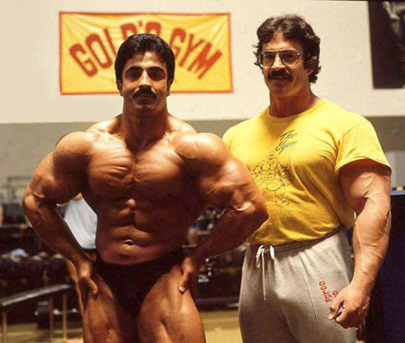 Samir Bannout and Mike Mentzer