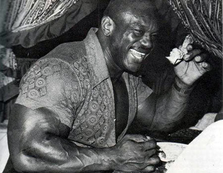 Sergio Oliva Loved his Food