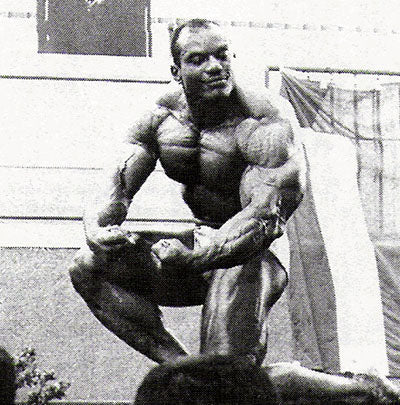 Sergio Oliva in Japan