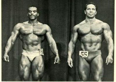 Sergio Oliva Vs Bill Pearl