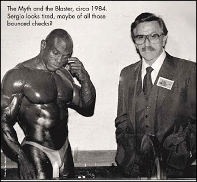Sergio Oliva and Joe Weider