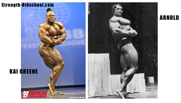 Side Chest Comparison - Kai Greene Vs Arnold