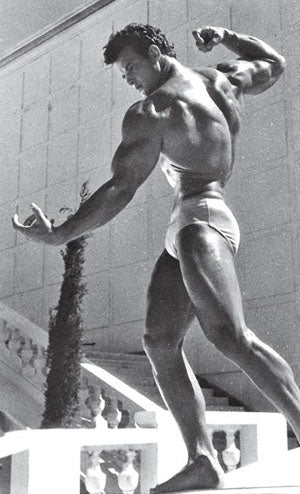 Bodybuilding Legend Steve Reeves trained on Full Body Routines