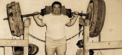 Strongest Raw Squatter of All Time - Paul Anderson