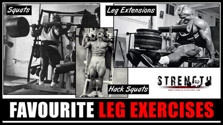 Tom Platz Favourite Leg Exercises