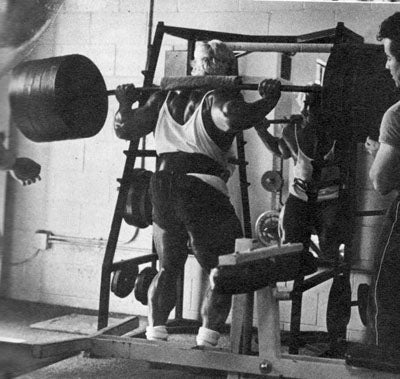 Tom Platz Heavy Squats
