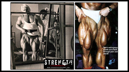 Tom Platz Leg Development