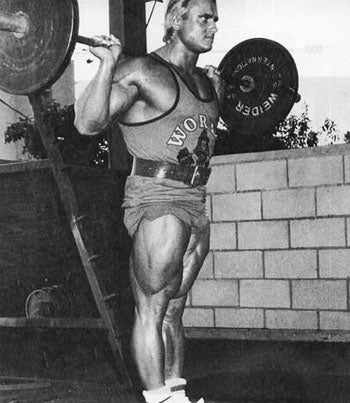 Tom Platz Olympic Squat