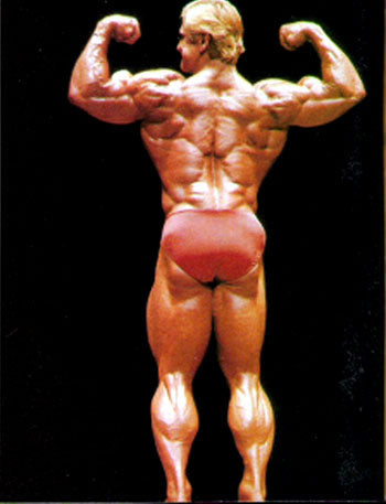 Tom Platz Posing at 1981 Mr Olympia