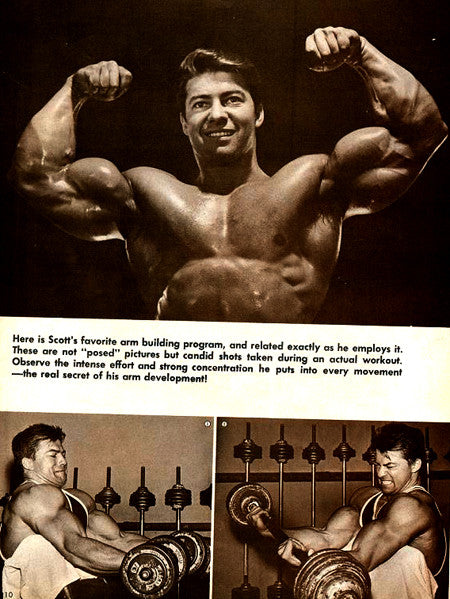 Training Arms with Bodybuilding Legend Larry Scott - Article 1