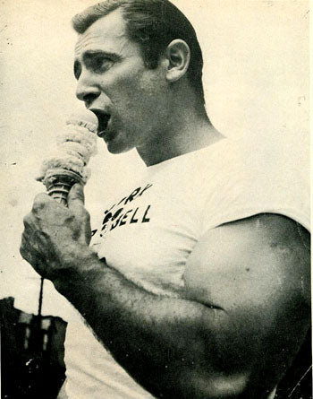 Weightlifter Steve Stanko Ice Cream Photo