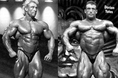 Young Dorian Yates Vs Older
